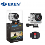 EKEN Action Cam H9R, Ultra HD 4K, 12MP, WiFi, Remote, Waterproof, Silver ✔ΔΩΡΟ POWER BANK 2600mAh