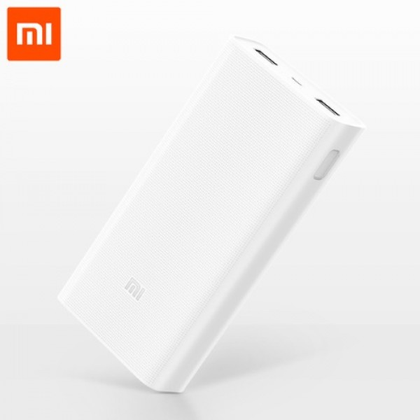 XIAOMI Mi Power Bank 20000mAh 2C μαζί με In Ear Headphones Basic (Silver)