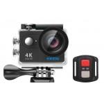 EKEN Action Cam H9R, Ultra HD 4K, 12MP, WiFi, Remote, Waterproof, Black ✔ΔΩΡΟ POWER BANK 2600mAh