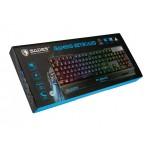 SADES Gaming Keyboard Neo Blademail, RGB Backlit, Membrane SA-KB104S + ΔΩΡΟ MOUSEPAD