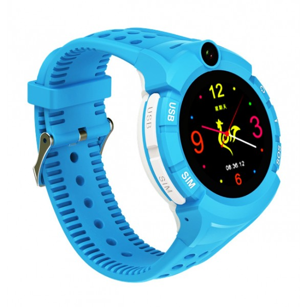 GPS Παιδικό Ρολόι Χειρός SD-S02-BL, SOS - Βηματομετρητής, Μπλε - ΜΕ ΠΙΣΤΩΤΙΚΗ ΣΕ ΕΩΣ 36 ΔΟΣΕΙΣ!!!