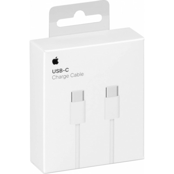 Apple Regular USB 2.0 Cable USB-C male - USB-C female Λευκό 1m (MUF72ZM/A)