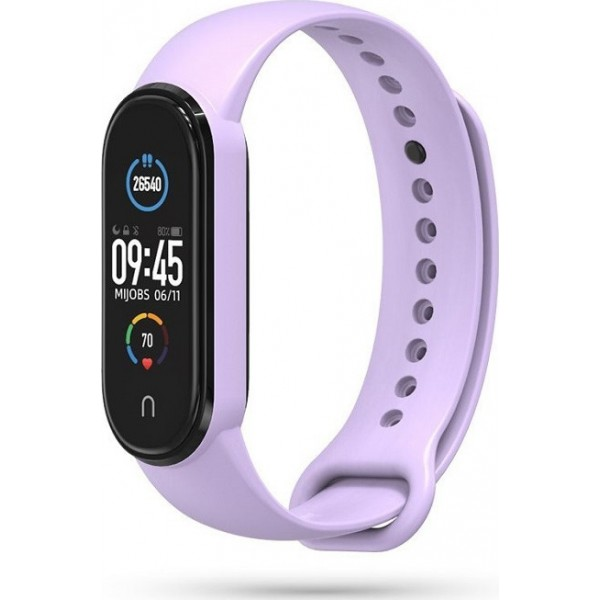 Tech-Protect Iconband Σιλικόνης Μωβ (Mi Band 5)
