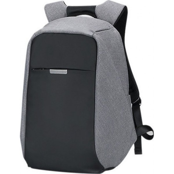 ARCTIC HUNTER 9912-DG Τσάντα Πλάτης Σκούρο Γκρι Αδιάβροχη Για Laptop & USB - ΜΕ ΠΙΣΤΩΤΙΚΗ ΣΕ ΕΩΣ 36 ΔΟΣΕΙΣ!!!