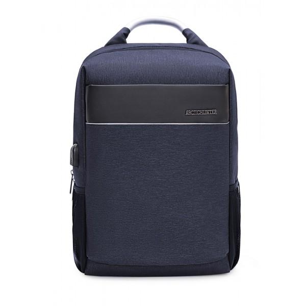 ARCTIC HUNTER B00218-BL Τσάντα Πλάτης Μπλε Αδιάβροχη Για Laptop & USB - ΜΕ ΠΙΣΤΩΤΙΚΗ ΣΕ ΕΩΣ 36 ΔΟΣΕΙΣ!!!