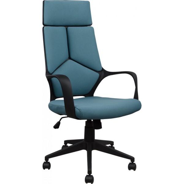 Καρέκλα Γραφείου HM1054.06 Γκρι Σιέλ Και Σκελετό Μαύρο - ΜΕ ΠΙΣΤΩΤΙΚΗ ΣΕ ΕΩΣ 36 ΔΟΣΕΙΣ!!!
