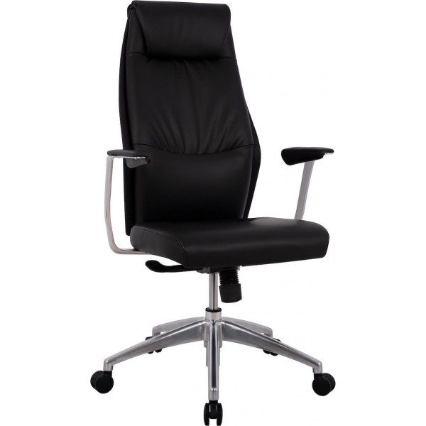 Καρέκλα Γραφείου Superior Pro HM1123 ΜΕ PU ΜΑΥΡΟ - ΜΕ ΠΙΣΤΩΤΙΚΗ ΣΕ ΕΩΣ 36 ΔΟΣΕΙΣ!!!