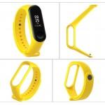 Λουράκι Σιλικόνης Κίτρινο (Mi Band 4)