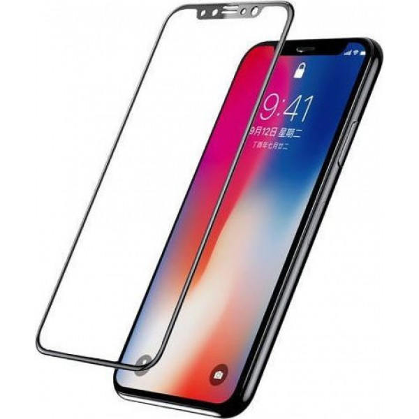 Senso 5D Full Face Tempered Glass Black (iPhone X / XS)
