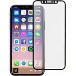 5D Full Face Tempered Glass Black (iPhone X / XS)