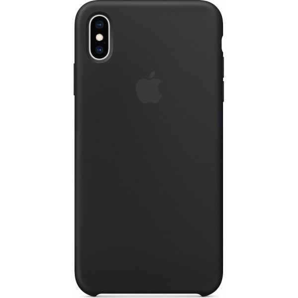 Apple iPhone XS Max Silicone Case Black (MRWE2ZM/A) - ΜΕ ΠΙΣΤΩΤΙΚΗ ΣΕ ΕΩΣ 36 ΔΟΣΕΙΣ!!!
