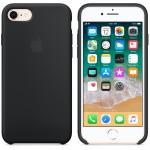 Apple iPhone 8 / 7 Silicon Case Black (MQGK2ZM/A) - ΜΕ ΠΙΣΤΩΤΙΚΗ ΣΕ ΕΩΣ 36 ΔΟΣΕΙΣ!!!