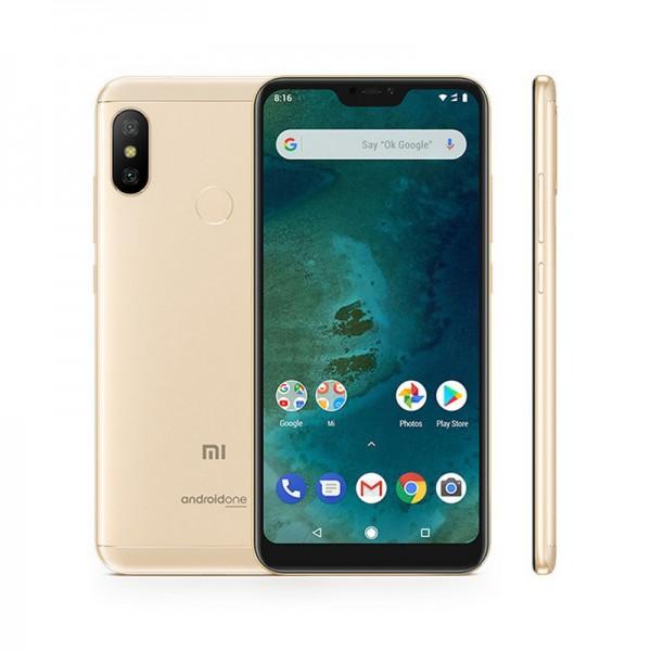 Xiaomi Mi A2 Lite (4GB/64GB) Gold EU + ΔΩΡΟ ΘΗΚΗ ΣΙΛΙΚΟΝΗΣ + TEMPERED GLASS - ΜΕ ΠΙΣΤΩΤΙΚΗ ΣΕ ΕΩΣ 36 ΔΟΣΕΙΣ!!!