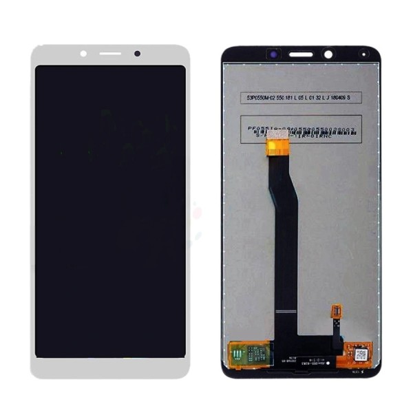 ΟΘΟΝΗ XIAOMI REDMI 6 / REDMI 6A LCD + TOUCHSCREEN ✔100% ORIGINAL QUALITY (WHITE)
