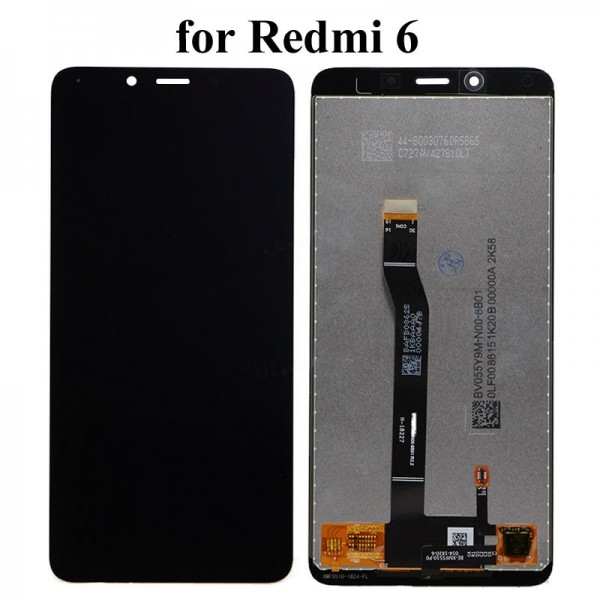 ΟΘΟΝΗ XIAOMI REDMI 6 / REDMI 6A LCD + TOUCHSCREEN ✔100% ORIGINAL QUALITY (BLACK)