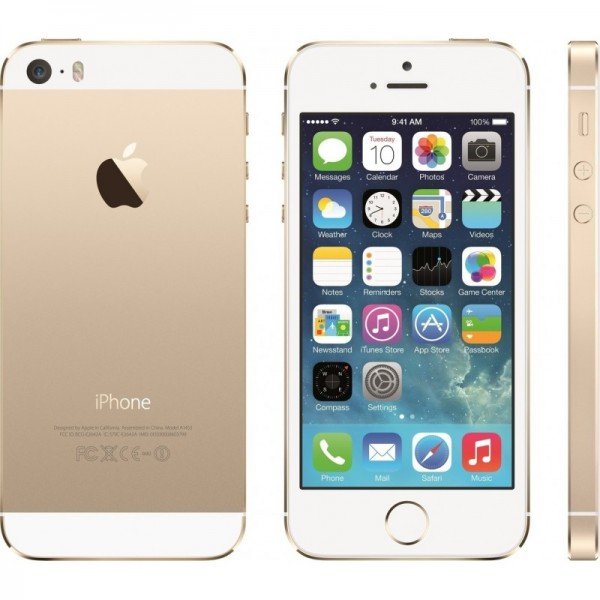 Apple iPhone 5S Gold 16gb EU + ✔ΔΩΡΟ ΘΗΚΗ + ✔TEMPERED GLASS + ✔ΦΟΡΤΙΣΤΗΣ ΑΥΤΟΚΙΝΗΤΟΥ 12V  - ΜΕ ΠΙΣΤΩΤΙΚΗ ΣΕ ΕΩΣ 36 ΔΟΣΕΙΣ!!!