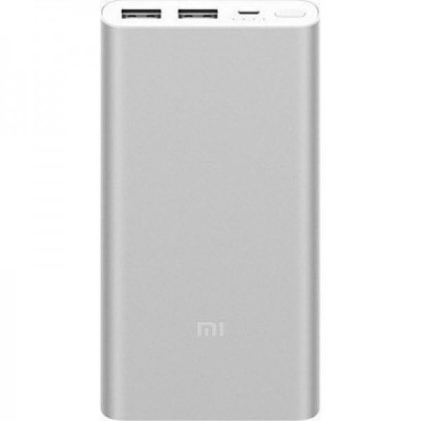 Xiaomi Mi Powerbank 2S 10000mAh (Silver) + ΔΩΡΟ ΦΟΡΤΙΣΤΗΣ ΑΥΤΟΚΙΝΗΤΟΥ 12V