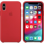 Apple Silicone Case Red (iPhone X / Xs) MRWC2ZM/A