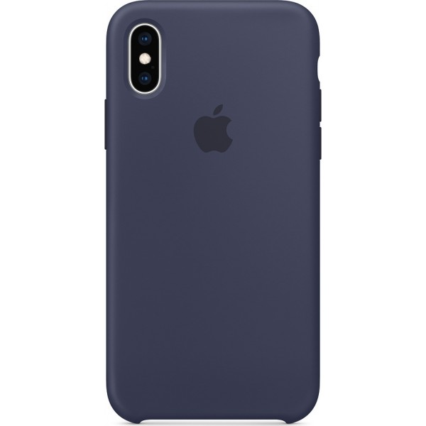 Apple Silicone Case Midnight Blue (iPhone X / Xs) MRW92ZM/A