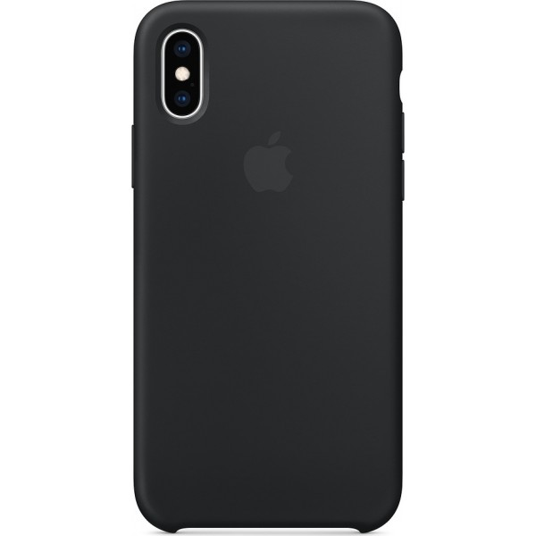 Apple Silicone Case Black (iPhone X / Xs) MRW72ZM/A