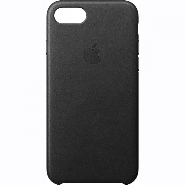 Apple iPhone 8/7 Leather Μαύρο (MMY52ZM/A)