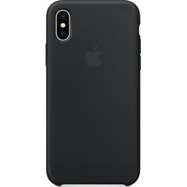 Apple iPhone X Silicone Case Black ORIGINAL (MQT12ZM/A)