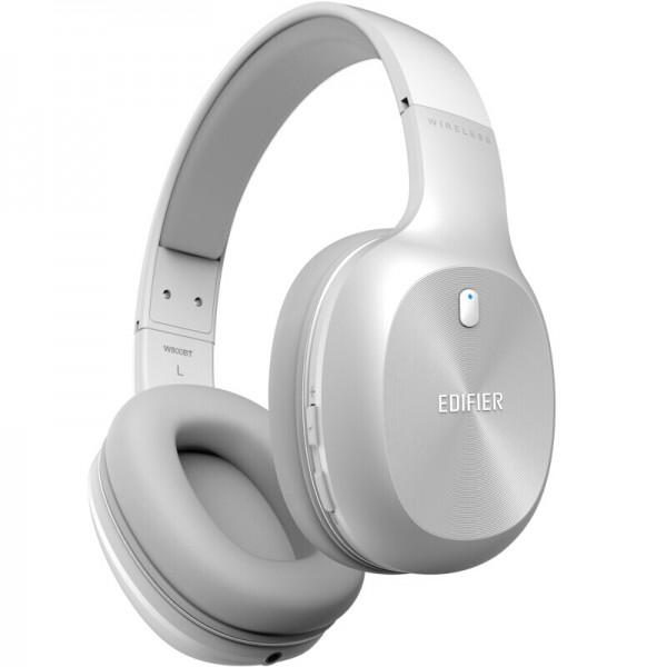 Wireless Headset Edifier W800BT White EU + ΔΩΡΟ ΦΟΡΤΙΣΤΗΣ ΑΥΤΟΚΙΝΗΤΟΥ 12V QUICK CHARGE - ΜΕ ΠΙΣΤΩΤΙΚΗ ΣΕ ΕΩΣ 36 ΔΟΣΕΙΣ!!!