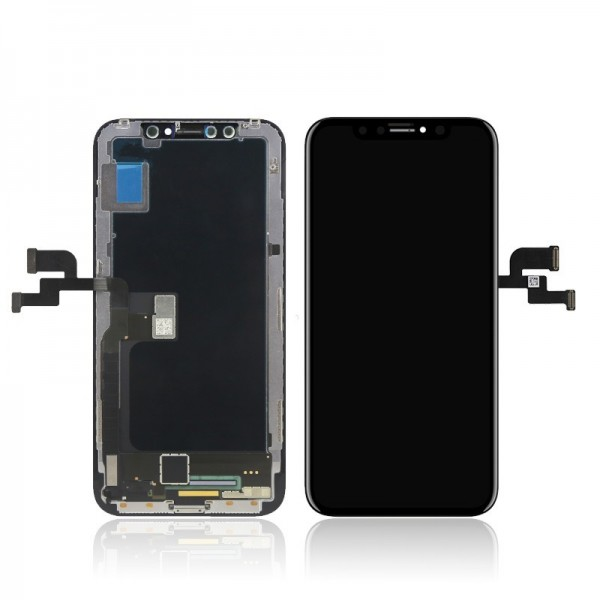 ΟΘΟΝΗ IPHONE X LCD + TOUCHSCREEN OLED ✔100% ORIGINAL QUALITY (BLACK)
