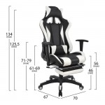 Homemarkt Speed HM1063.04 Black/White