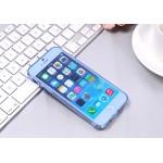 OEM ΘΗΚΗ BOOK ΣΙΛΙΚΟΝΗΣ ΜΠΛΕ ( iPhone 6/6s )