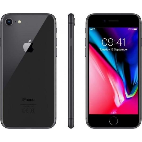 APPLE IPHONE 8 64GB GREY EU ✔ΔΩΡΟ ΘΗΚΗ + ✔TEMPERED GLASS + ✔ΦΟΡΤΙΣΤΗΣ ΑΥΤΟΚΙΝΗΤΟΥ ✔ΚΑΙ ΣΕ ΕΩΣ 12 ΔΟΣΕΙΣ
