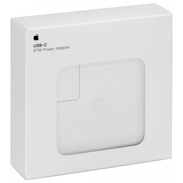 Apple 61W USB-C Power Adapter ✔ΣΕ ΣΥΣΚΕΥΣΙΑ / ✔ORIGINAL (MNF72Z/A)